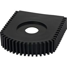 SCA Shin Protector - Black, Rubber, , scanz_hi-res