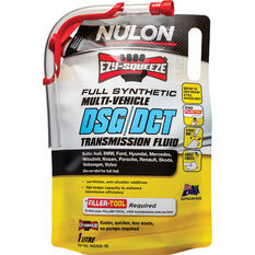 Nulon EZY-SQUEEZE Multi-Vehicle DSG/DCT Transmission Fluid 1 Litre, , scanz_hi-res