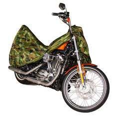 Camouflage Motorcycle Cover Large, , scanz_hi-res