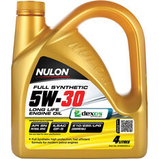 Nulon Full Synthetic Long Life Engine Oil 5W-30 4 Litre, , scanz_hi-res