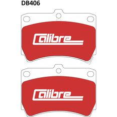Calibre Disc Brake Pads DB406CAL, , scanz_hi-res