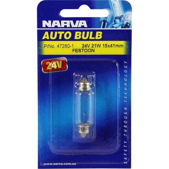 Narva Bulb - 24V, 21W, 15x41mm, , scanz_hi-res