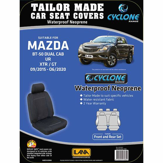 Ilana Cyclone Tailor Made Pack for Mazda BT-50 UR Dual Cab 09/15-06/20, , scanz_hi-res