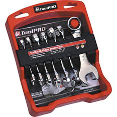 ToolPRO Spanner Set - Stubby, 7 Piece, Imperial, , scanz_hi-res