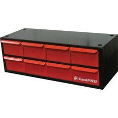 ToolPro Organiser, Stackable, Metal - 8 Drawer, , scanz_hi-res