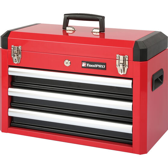 ToolPRO Tool Kit 3 Drawer Chest 131 Piece, , scanz_hi-res