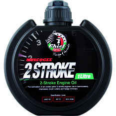 Muscogee Small Engine Oil  - 2 Stroke Oil, 1 Litre, , scanz_hi-res