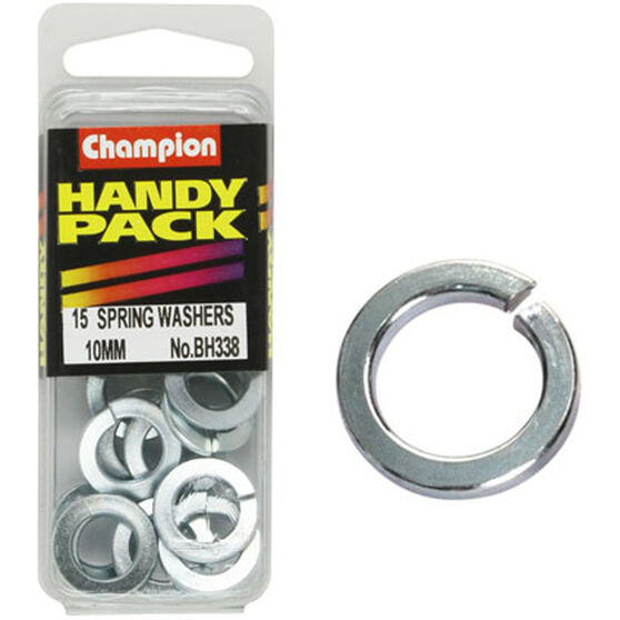 Champion Spring Washers - 10mm, BH338, Handy Pack, , scanz_hi-res