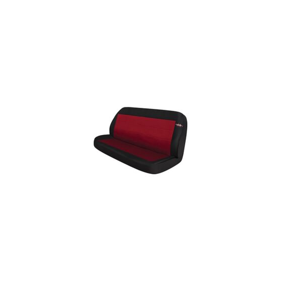 Cord Seat Covers - Red, Size 06, Rear Seat (no headrests), , scanz_hi-res