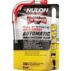 Nulon EZY-SQUEEZE Multi-Vehicle Full Synthetic Automatic Transmission Fluid 1 Litre, , scanz_hi-res