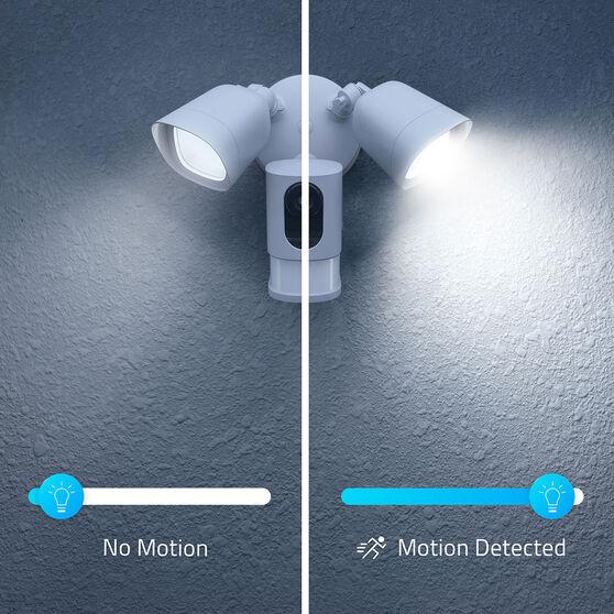 Eufy Smart Floodlight with Camera 1080P White - T8420CW2, , scanz_hi-res