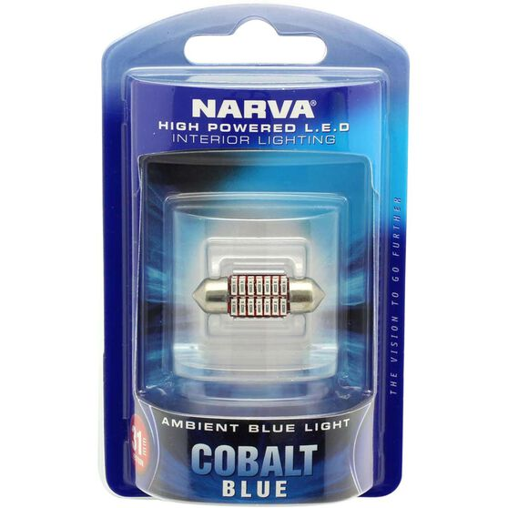 Narva Interior Globe LED - Cobalt Blue, , scanz_hi-res