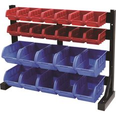 Bench Top Bin Rack - 24 Compartment, , scanz_hi-res