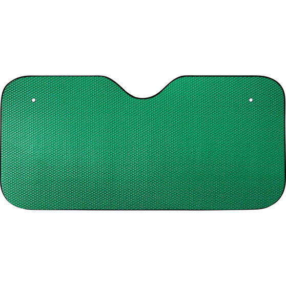 SCA Tall Bubble Sunshade - Matte Green, Accordion, Front, , scanz_hi-res