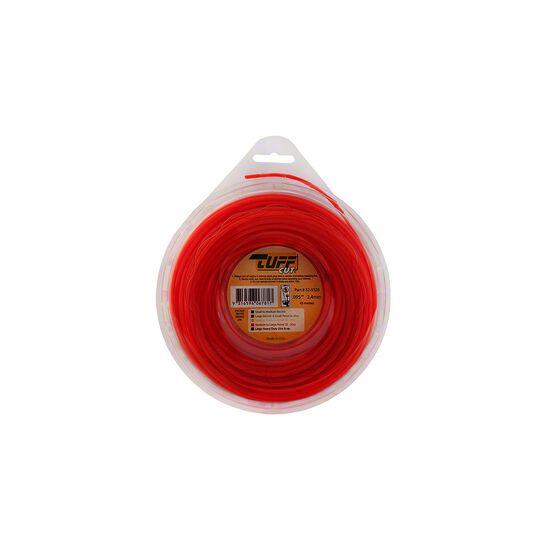 Tuff Cut Trimmer Line - Orange, 2.4mm X 43m, , scanz_hi-res