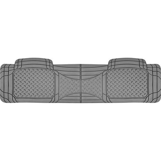 SCA Car Floor Mat - Rubber, Grey, Rear, Single Rear, , scanz_hi-res