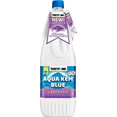 Thetford Aqua Kem Blue Toilet Additive Lavender 1 Litre, , scanz_hi-res