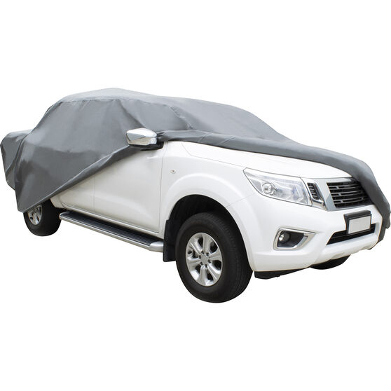 CoverALL Car Cover - Essential Protection - Suits Dual Cab Ute Vehicles, , scanz_hi-res