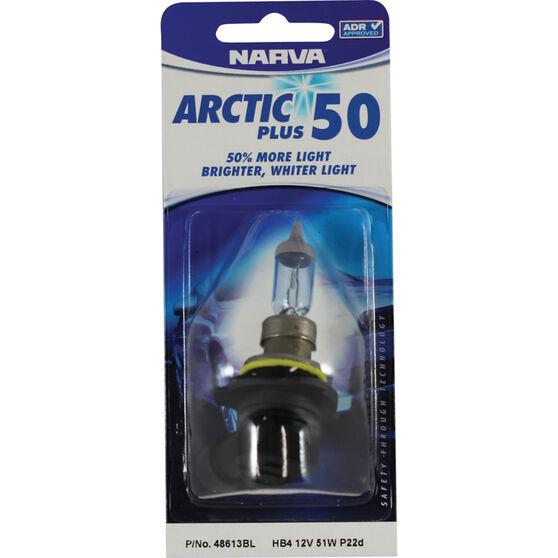 Narva Headlight Globe - Arctic Plus 50, HB4, 12V, 51W, , scanz_hi-res