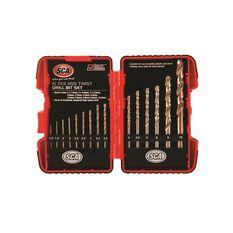 SCA Drill Set - HSS, Metric, 15 Piece, , scanz_hi-res