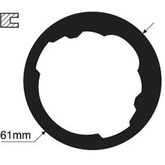 Tridon Thermostat Gasket - TTG35, , scanz_hi-res