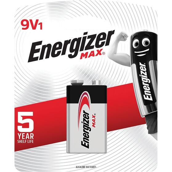 Energizer Max Battery - 9V, , scanz_hi-res