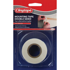Clingtape Double Sided Tape - Mounting, 24mm x 2m, , scanz_hi-res