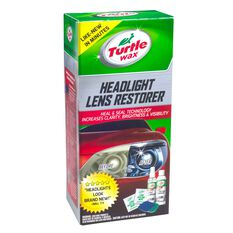 Turtle Wax Headlight Restorer Kit, , scanz_hi-res