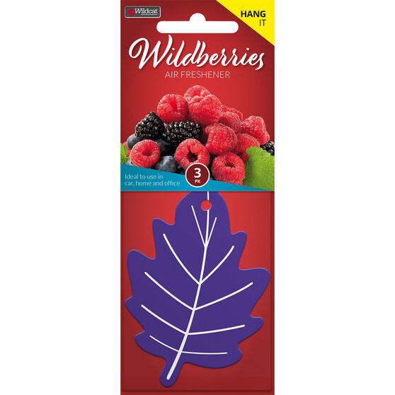 Leaf Scents Air Freshener - Wildberries, 3 Pack, , scanz_hi-res