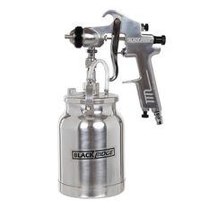 High Pressure Air Spray Gun, Heavy Duty - 1000mL, , scanz_hi-res