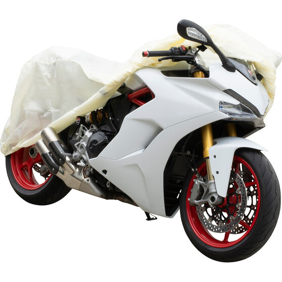 SCA Motorcycle Cover - Suits Small Motorcycles, , scanz_hi-res
