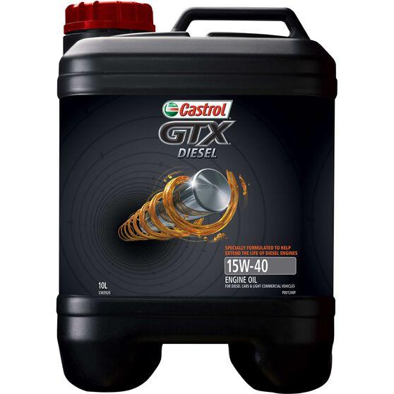 Castrol GTX Diesel Engine Oil - 15W-40, 10 Litre, , scanz_hi-res