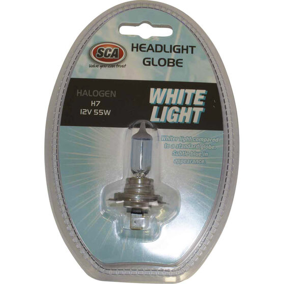 SCA White Light Performance Globes - 12V, 55W, H7, , scanz_hi-res