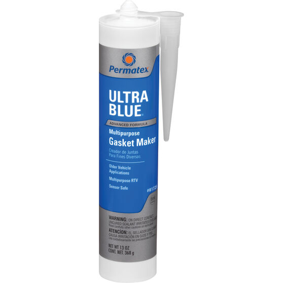 Permatex RTV Silicone Gasket Maker, Multi-Purpose - Ultra Blue, 300mL, , scanz_hi-res