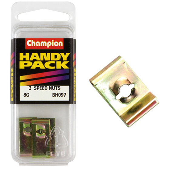Champion Speed Nuts (Clips) - 8G, BH097, Handy Pack, , scanz_hi-res