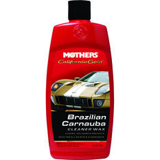 Mothers California Gold Brazilian Carnauba Cleaner Liquid Wax 473mL, , scanz_hi-res