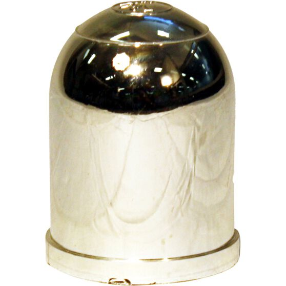 Trojan Tow Ball Cover - Chrome, 50mm, , scanz_hi-res