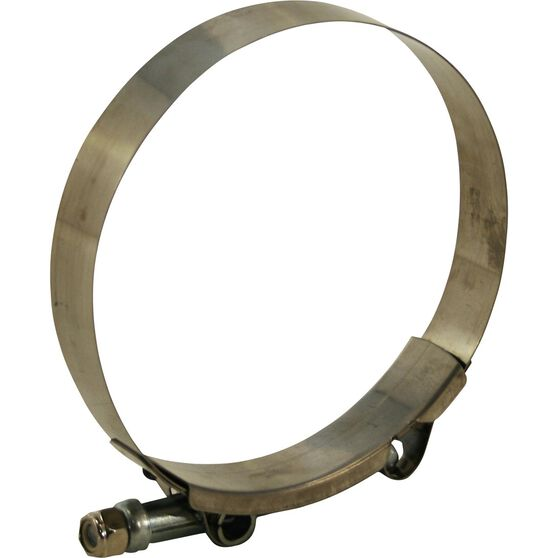 Hose Clamp - Stainless Steel, 76mm, , scanz_hi-res