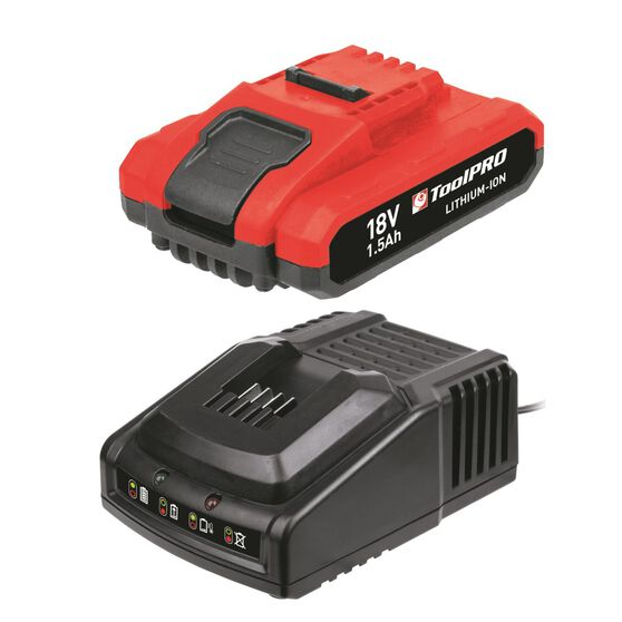 ToolPRO Battery Pack with charger - 18V Li-Ion, , scanz_hi-res