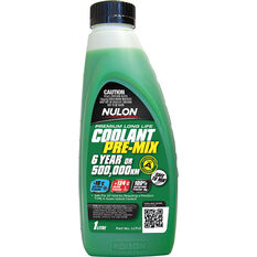 Nulon Green Premium Long Life Coolant Premix 1 Litre, , scanz_hi-res