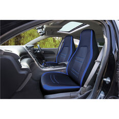 SCA Racing Seat Covers - Front Pair - Blue / Black, , scanz_hi-res