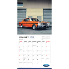 Classic Ford Square 2019 Calendar, , scanz_hi-res