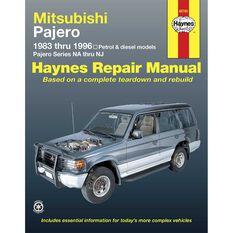 Haynes Car Manual For Mitsubishi Pajero 1983-1996 - 68765, , scanz_hi-res