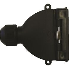 SCA Trailer Socket, Plastic - Flat, 7 Pin, , scanz_hi-res