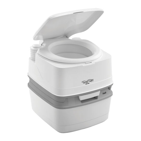 Thetford Portable Toilet Porta Potti Qube 165, , scanz_hi-res