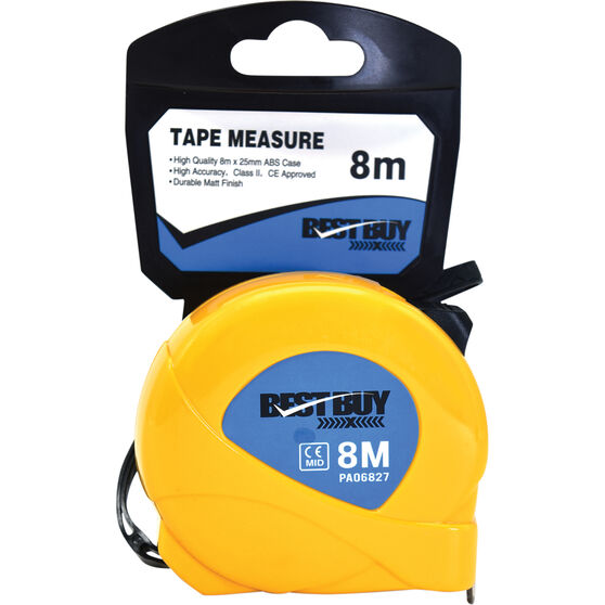 Best Buy Tape Measure - 8m, , scanz_hi-res