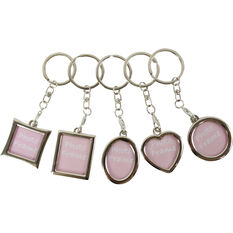 Photo Frame Keyring - Assorted, , scanz_hi-res