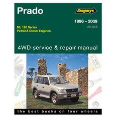 Car Manual For Toyota Prado 95 & 120 Series 1996-2009 - 518, , scanz_hi-res