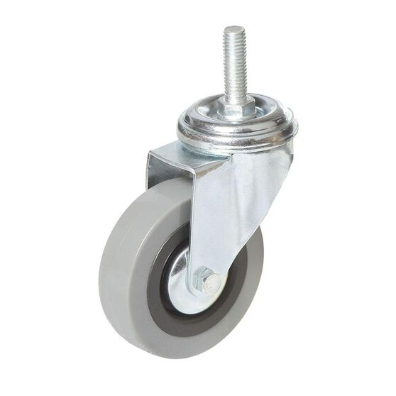 SCA Caster Wheel - 75 x 20mm, Plastic, Swivel, , scanz_hi-res