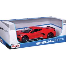 Die Cast 2020 Corvette Sting Ray 1:18 Scale Model, , scanz_hi-res